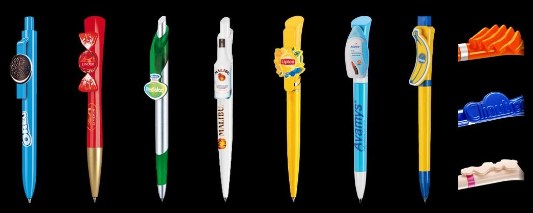 Długopisy plastikowe  CLIP4YOU