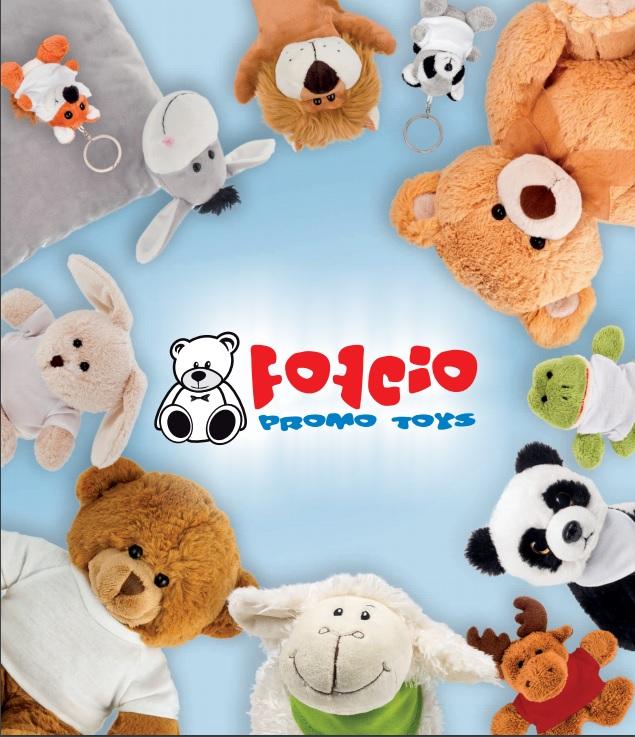 Pluszaki i zabawki reklamowe